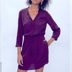 Aritzia Babaton Bennett Dress size XS purple